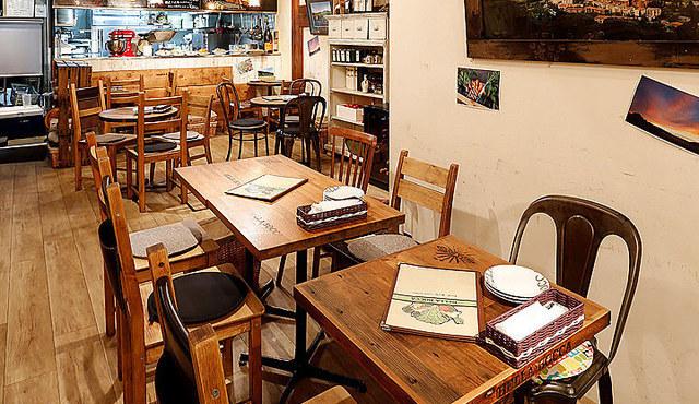 ベラボッカの食べログに掲載されている店内画像