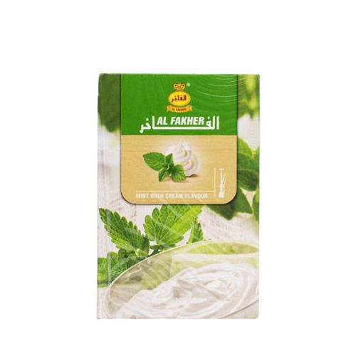 Al Fakherのmint with cream
